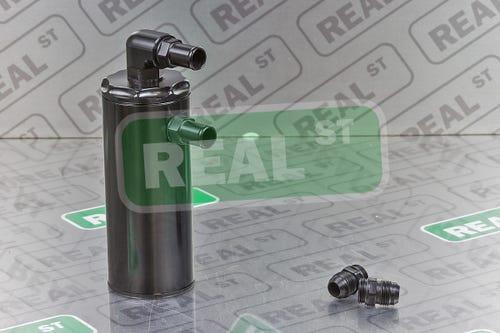 Billet Aluminum Engine Oil Catch Can for BMW 3 Series 335i E90 Saloon Sedan BK