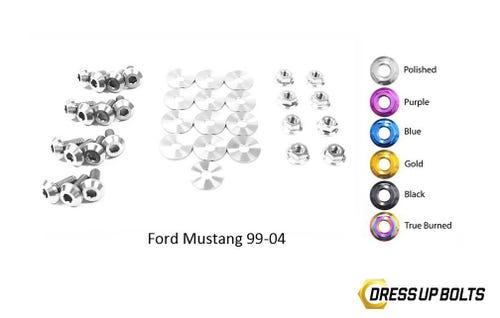 Dress Up Bolts Titanium Ford Mustang GT 1999-04 Cobra 03
